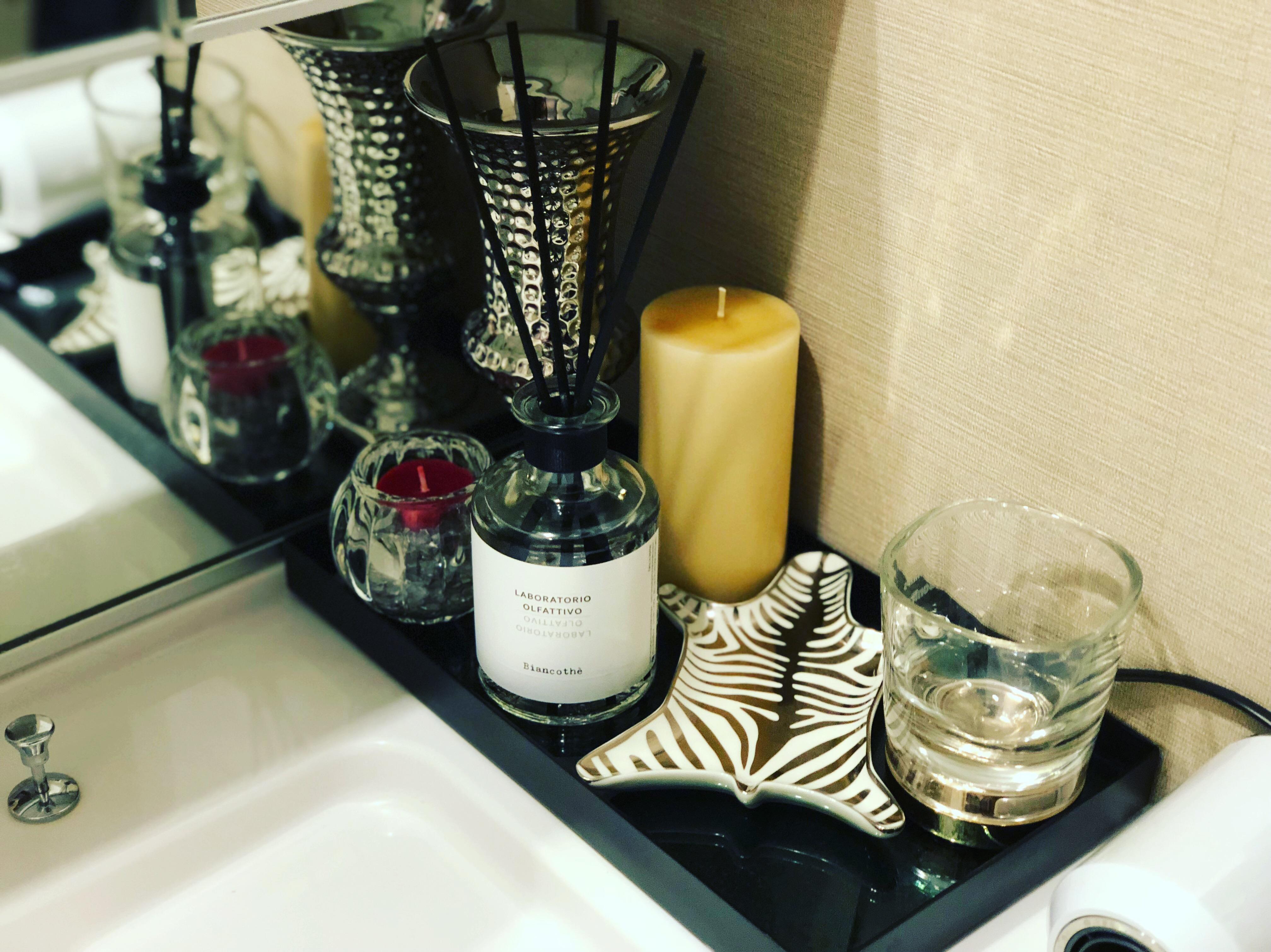 洗面所のスタイリング