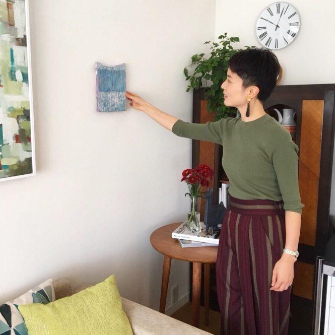 アートの飾り方,インテリアコーディネーター山口恵実のブログ