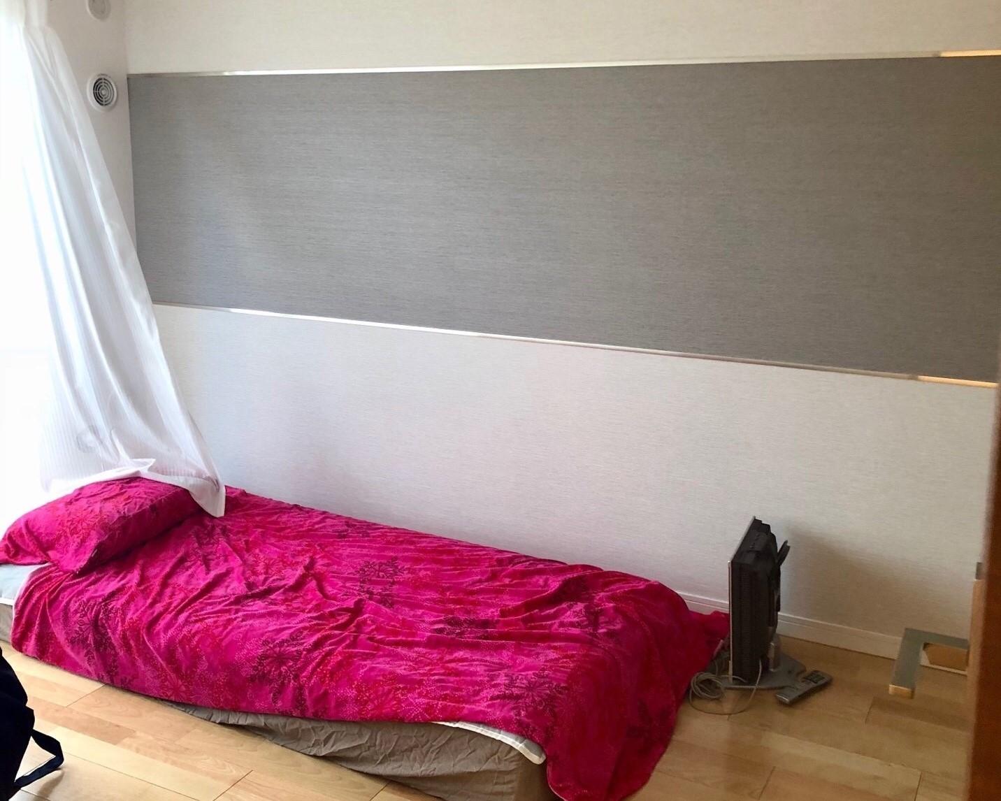 インテリアコーディネート依頼のベッドルーム実例