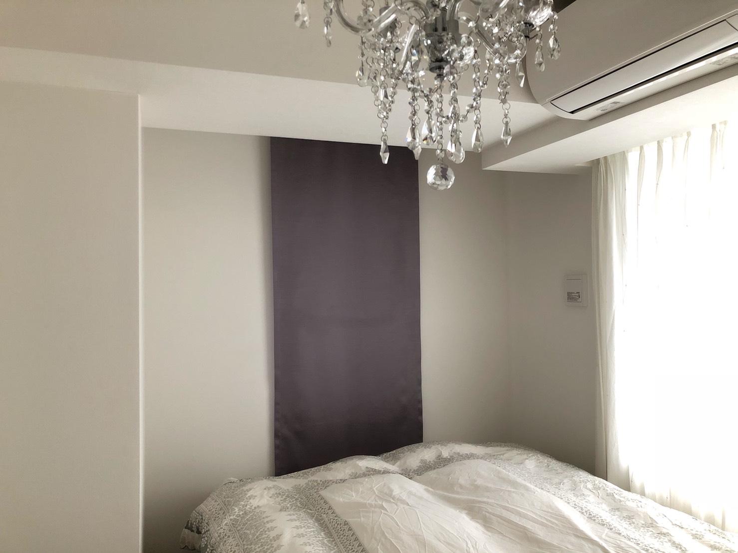 寝室コーディネート実例インテリアコーディネーター山口恵実1