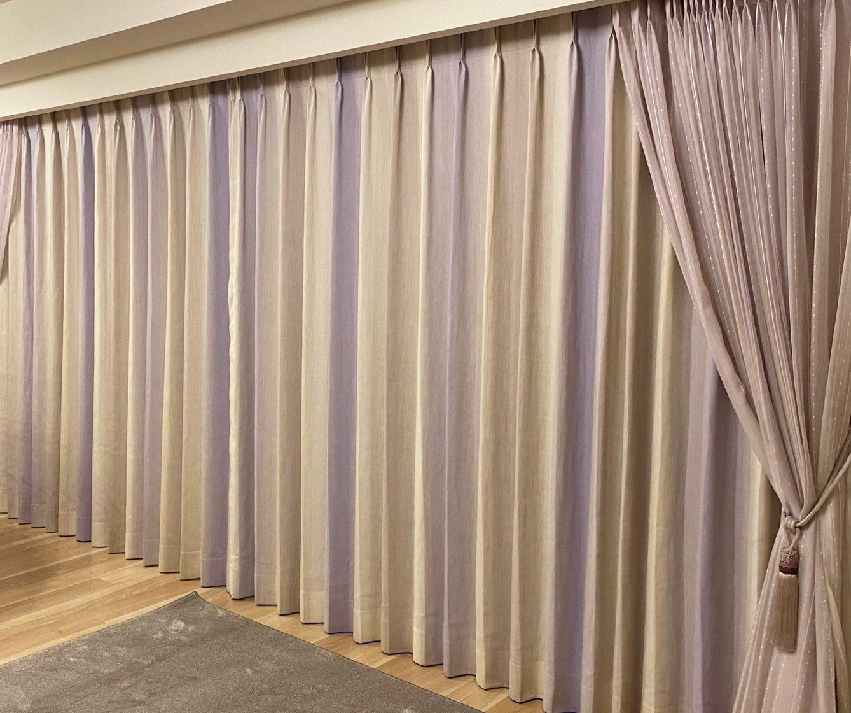 オーダーカーテン事例Studio del Sol