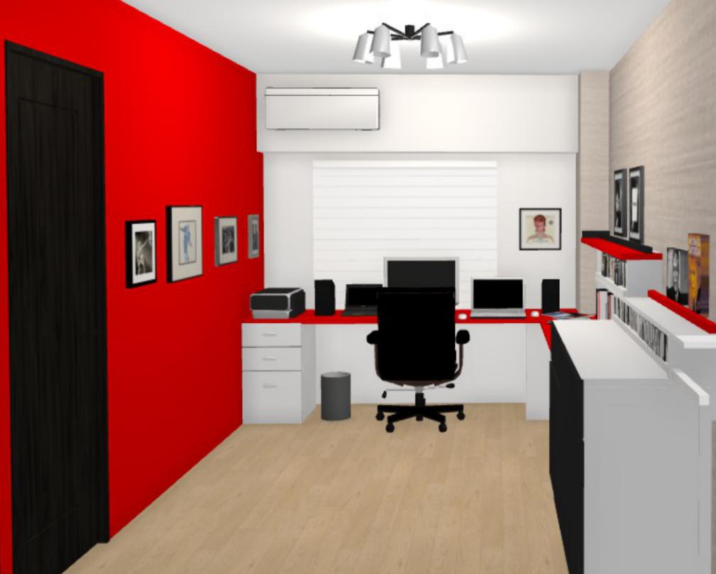 ロックなホームオフィスStudio del Sol