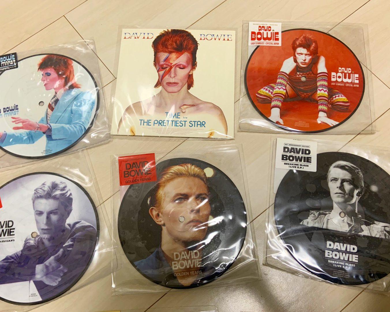 David Bowieレコード