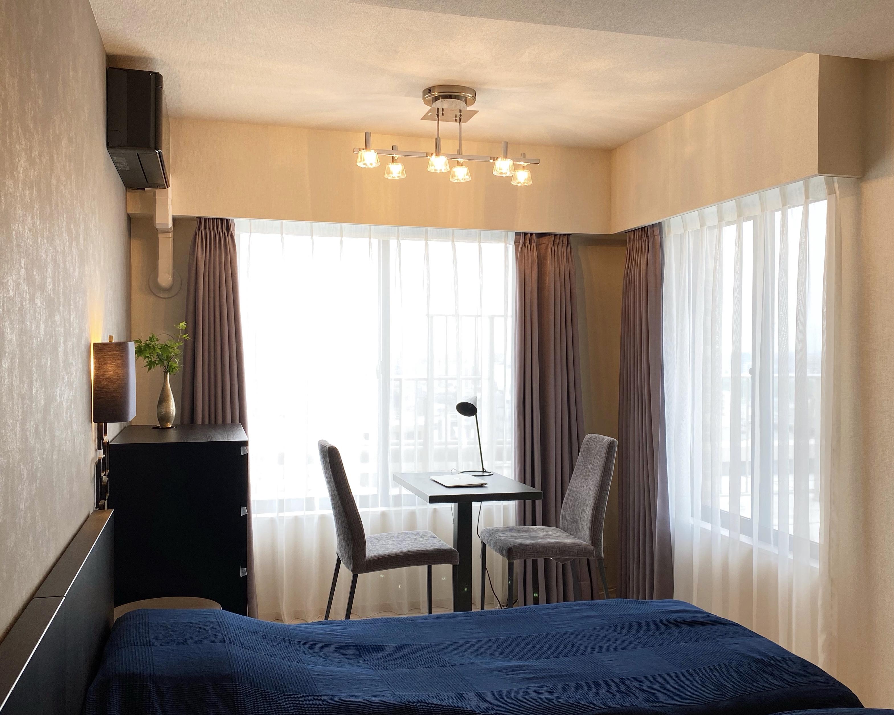 ホテルライクな主寝室